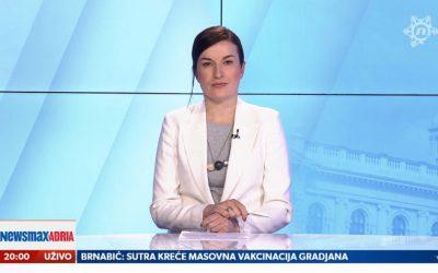 VIDEO Pogledajte kako je TV voditeljica podržala žene žrtve zlostavljanja
