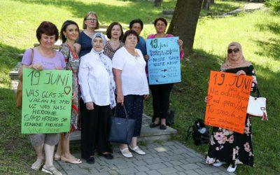 """Održana kreativna radionica """"Podrška ženama koje su preživjele seksualno nasilje u ratu"""". –"""